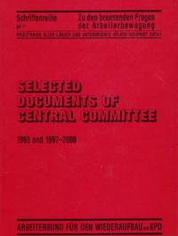 Selected Documents of Central Committee (1993 and 1997-2000) Bild